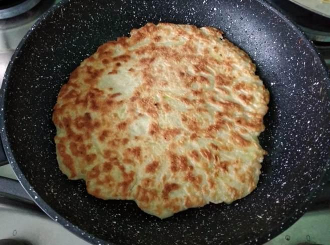 baked squash dough pancake